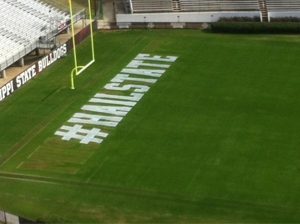 Mississippi state #hailstate field