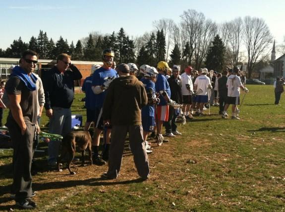 Springfield Alumni Game lacrosse thanksgiving