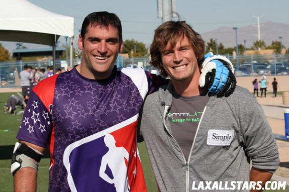 Las Vegas Lacrosse Showcase - Anthony Kelly and Brett Hughes
