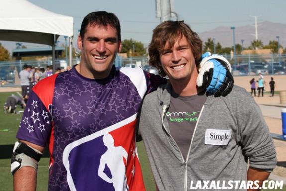 Las Vegas Lacrosse Showcase - Anthony Kelly and Brett Hughes
