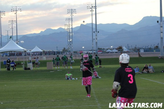 Las Vegas Lacrosse Showcase - Bigfoot LAS vs. Salt Shakerz 1
