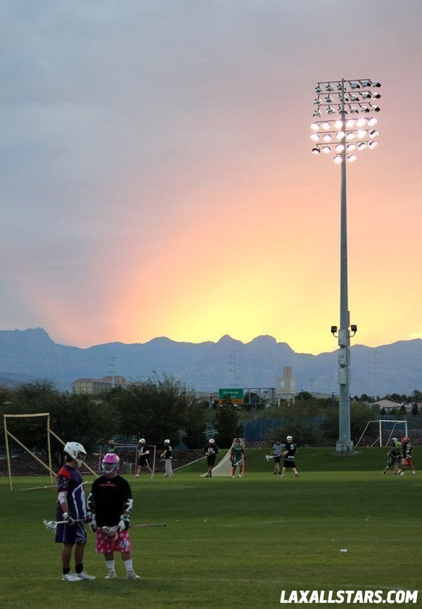 Las Vegas Lacrosse Showcase - Brett Hughes and Matt Hickman