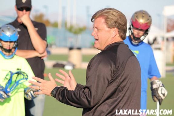 Las Vegas Lacrosse Showcase - Jason Lamb Clinic