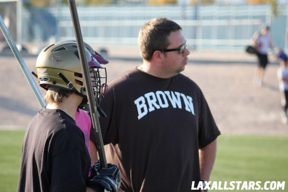 Las Vegas Lacrosse Showcase - Mike Brand Clinic