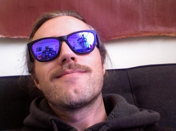 Connor Wilson mustache oakley