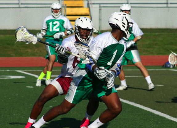 Shamel Bratton LXM PRO tour lacrosse lax