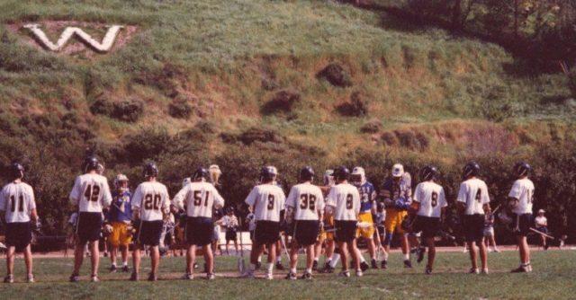 Whittier 1997 UCSB lacrosse