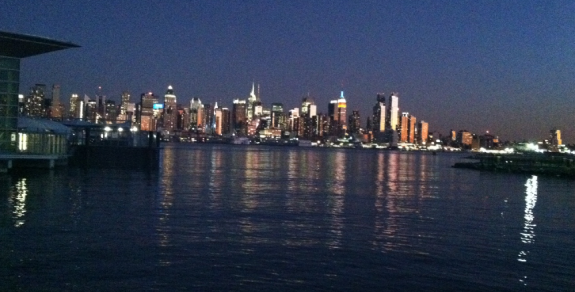 NYC from Jersey at night