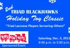 Toys for tots North Carolina lacrosse marines