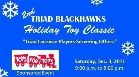 Toys for tots North Carolina lacrosse marines