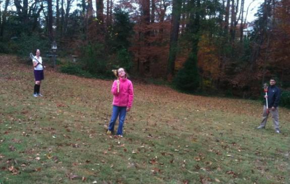 backyard thanksgiving lacrosse willson family