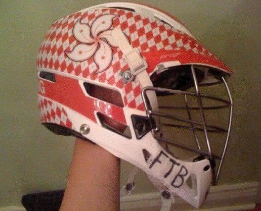 Hong Kong Lacrosse helmet HeadWrapz