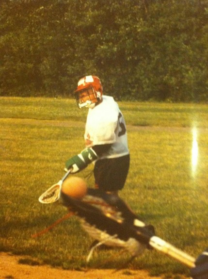 Connor Wilson 4th grade lacrosse weston
