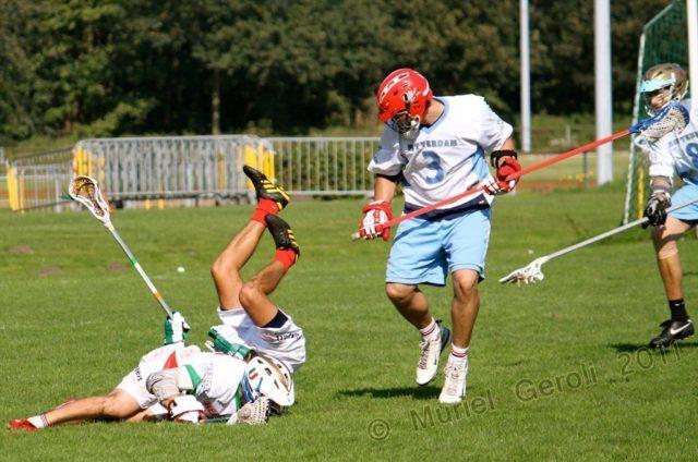 Europe Lacrosse Rotterdam hit