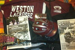 Weston High School Old School lacrosse gear