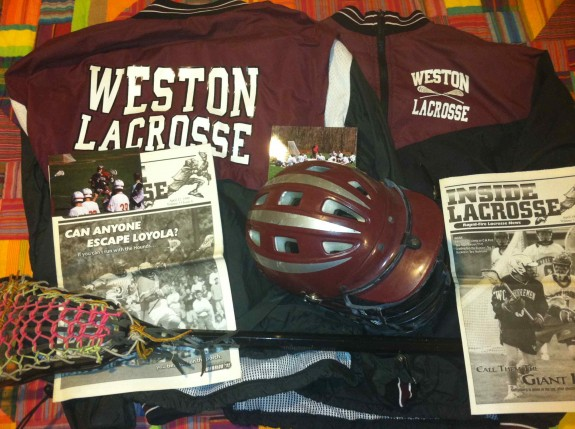 Weston High School Old School lacrosse gear