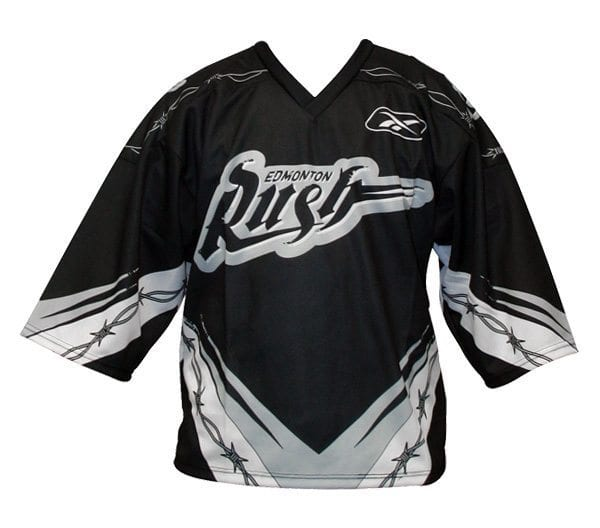 Edmonton Rush NLL Jersey Reebok Lacrosse
