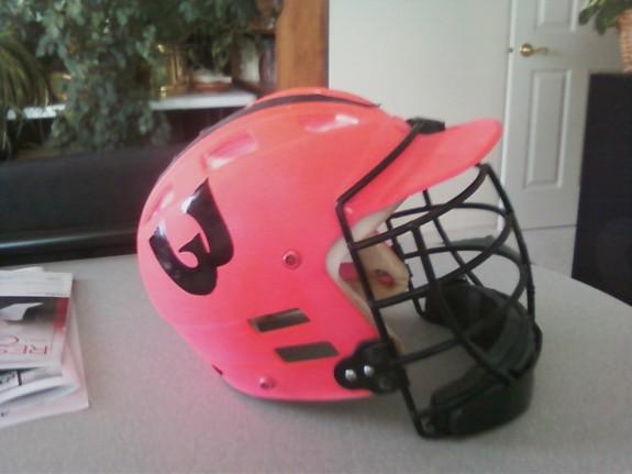 Woozles Old School Helmet pink lacrosse