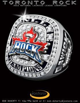 Toronto Rock Championship Ring