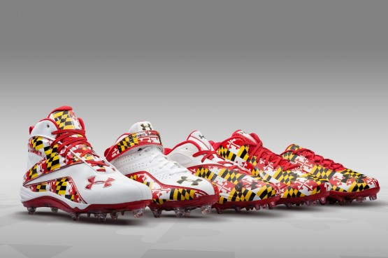 Under Armour Maryland Lacrosse cleats