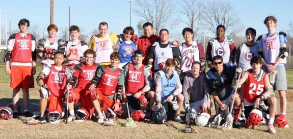 Magnet High School alumni game lacrosse
