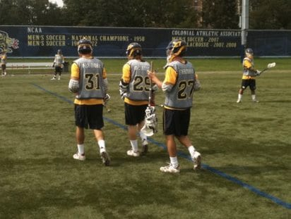 Drexel Lacrosse first day of practice
