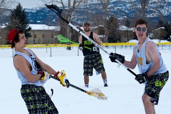 Missoula Elite Lacrosse Club snow lax winter
