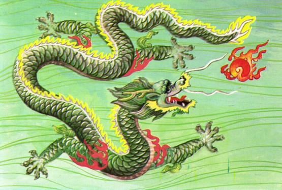 Chinese-Dragon-Green