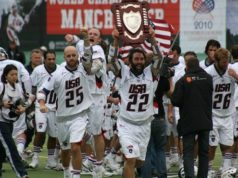 Best Lacrosse Player Ryan Powell Team USA 2010 World Champs lacrosse