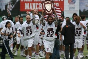 Chris Schiller Ryan Powell Team USA 2010 World Champs lacrosse