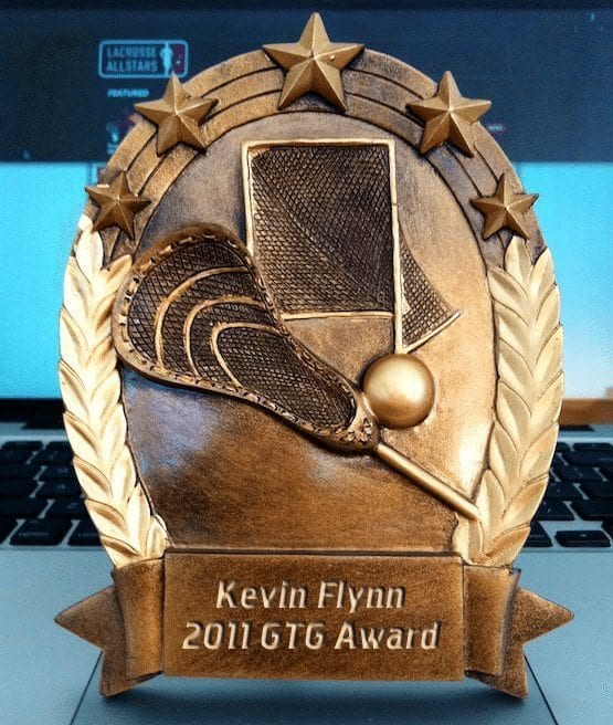 2011 Grow The Game Award Winner