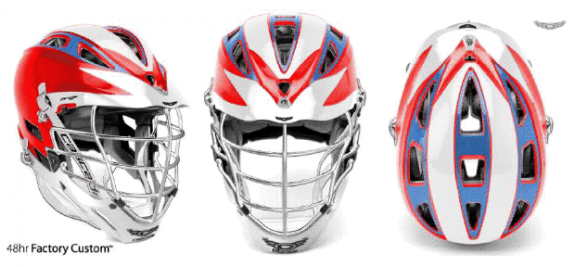 Chile Lacrosse helmet cascade