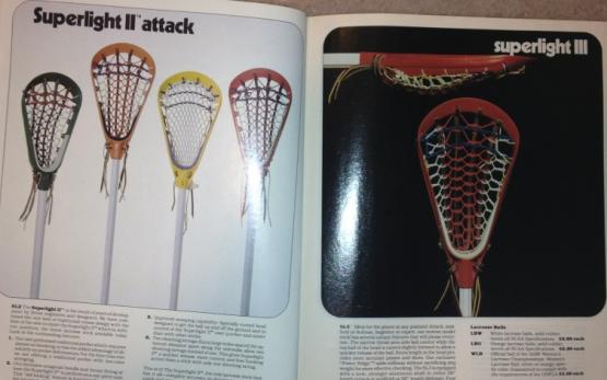Brine Lacrosse Guide Almanac Superlight II III
