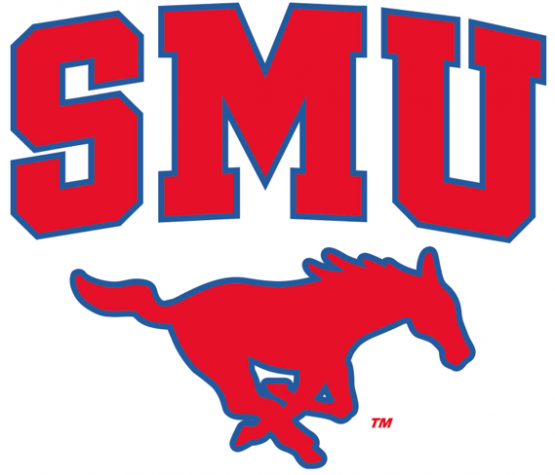 SMU Logo lacrosse