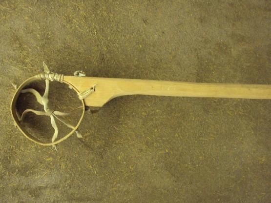 old native american lacrosse stick