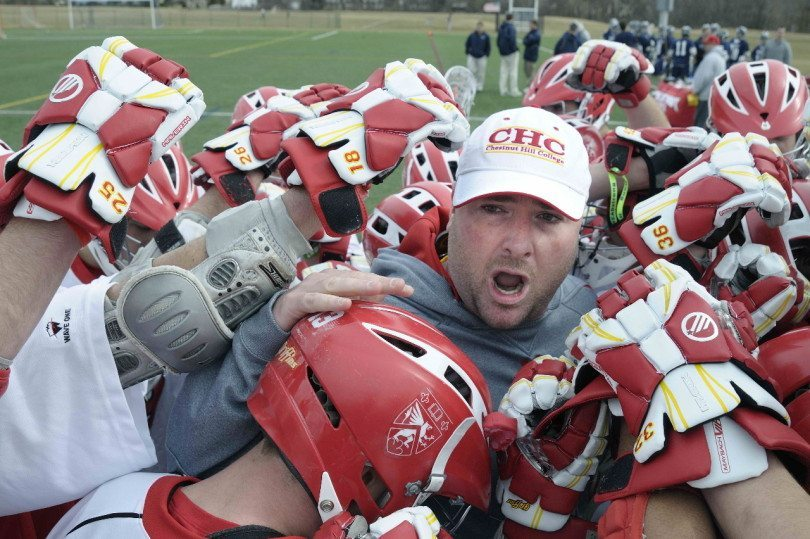 Brian Dougherty Chestnut Hill College lacrosse