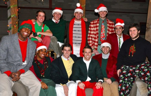 Brown Lacrosse House Christmass