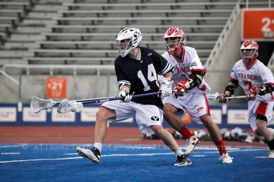 BYU Simon Fraser Lacrosse