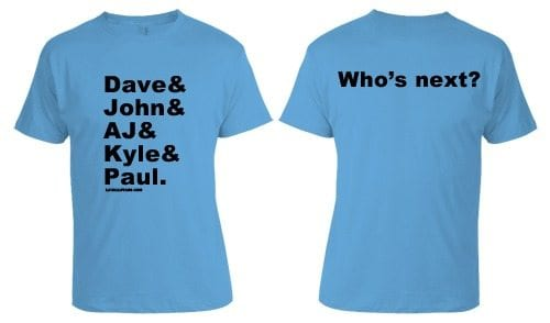 JHU Lax Legends Tee