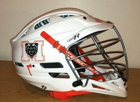 Mercer lacrosse helmet cascade lax