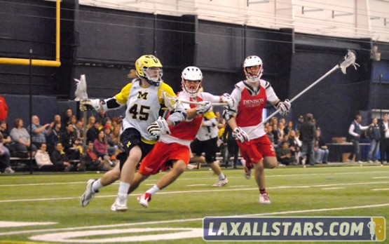 Michigan vs Denison Lacrosse Photo 18