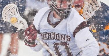 Roanoke St.Mary's Lacrosse snow bowl lax