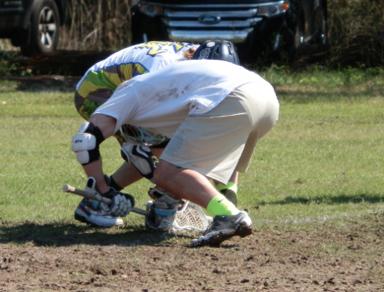 Connor Wilson Matt Witko lacrosse face off