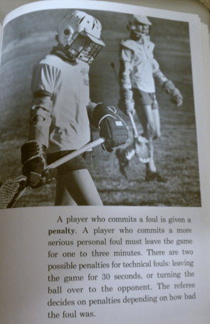 lacrosse is for me book