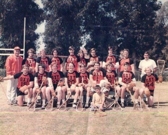 occidental college lacrosse 1971