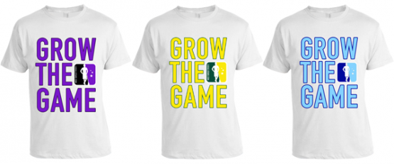 Grow The Game Lacrosse T-shirts