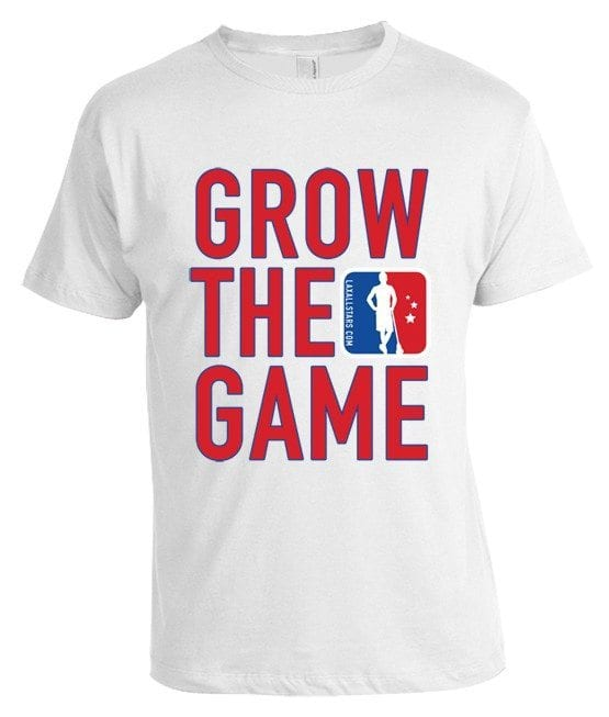 Grow The Game Lacrosse T-shirt