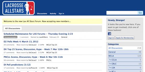 LaxAllStars.com Forums