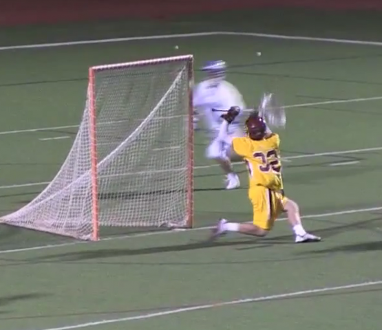 lacrosse goal or no goal?