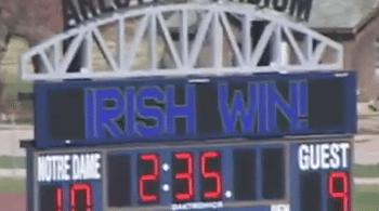 Notre Dame vs. Denver 3OT thriller